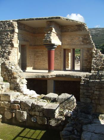 Part of the Palace, Knossos