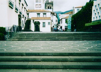 Steps leading into Funchal