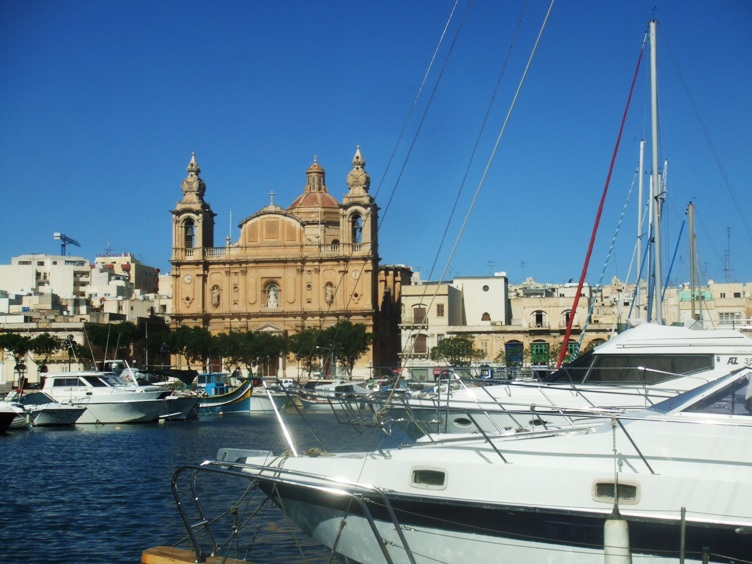 Valletta from your yacht