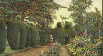 The lost garden at Campsea Ashe