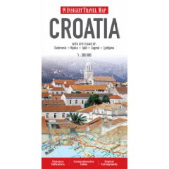 Croatia Insight Travel Map