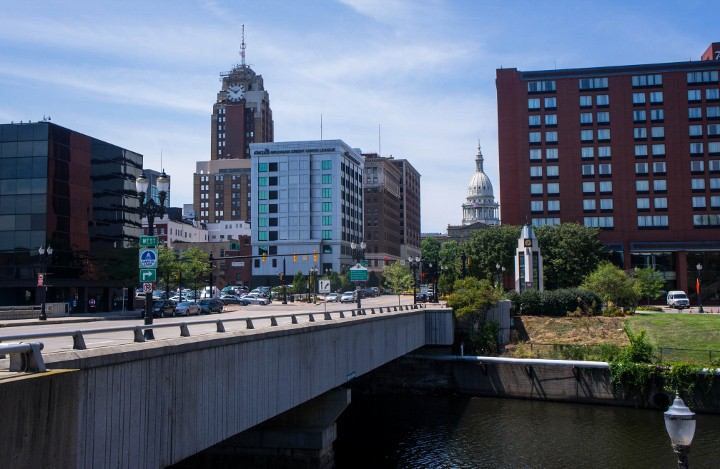 Downtown Lansing, Michigan