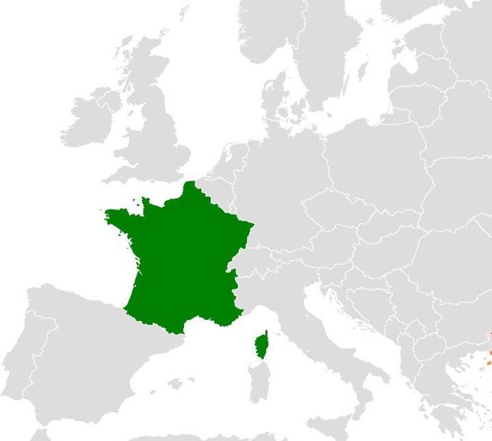 France in Europe