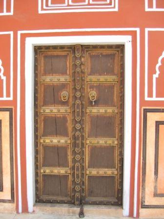 Doorway in the City Palace, Jaipur