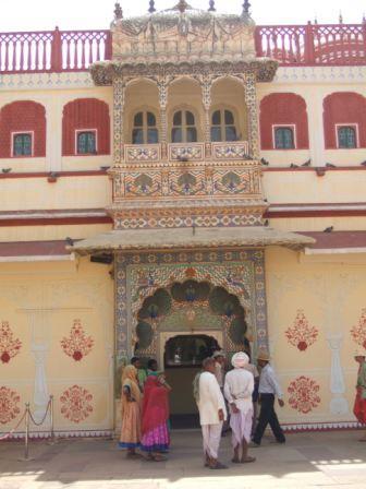 Courtyard Gateway, Jaipur