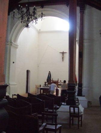 Iglesia de San Blas, Nicoya - Interior