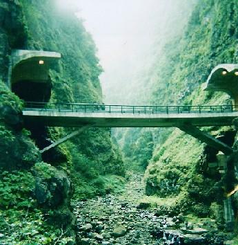 New coastal road, Madeira