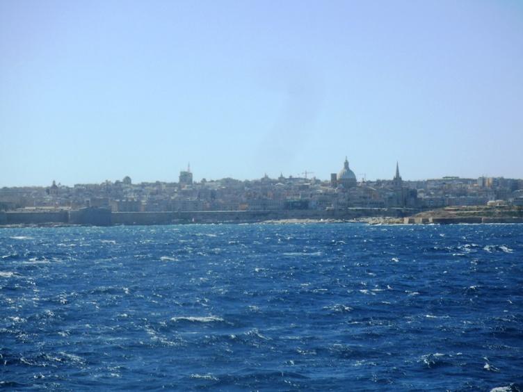 Valletta from the sea